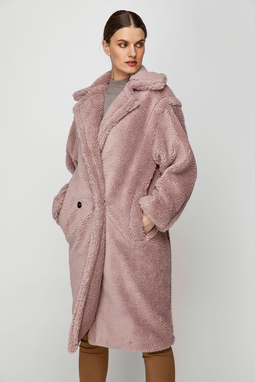 Παλτό μακρύ με τσέπες