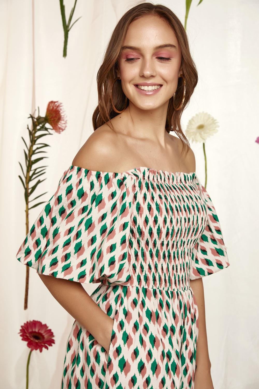 Ολόσωμη φόρμα με print 100% βαμβάκι
