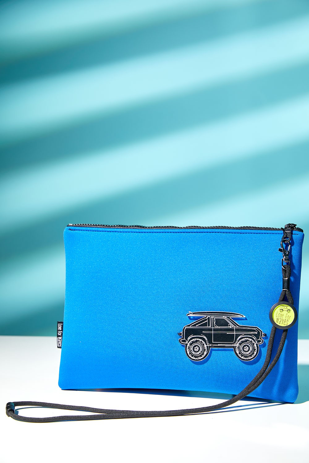 Beach car clutch | Blue Royal