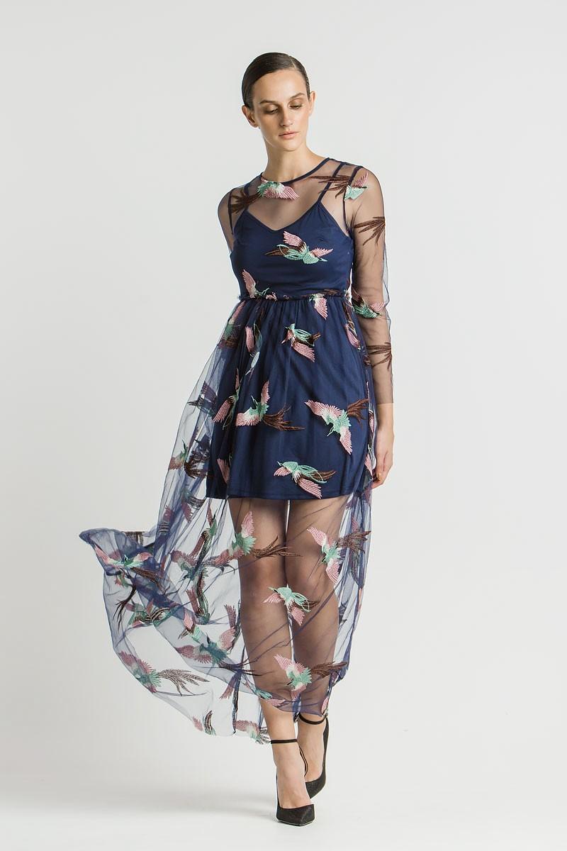 f8fcb6bbd789 Φόρεμα με κεντήματα - Bettina Stores Bettina Stores