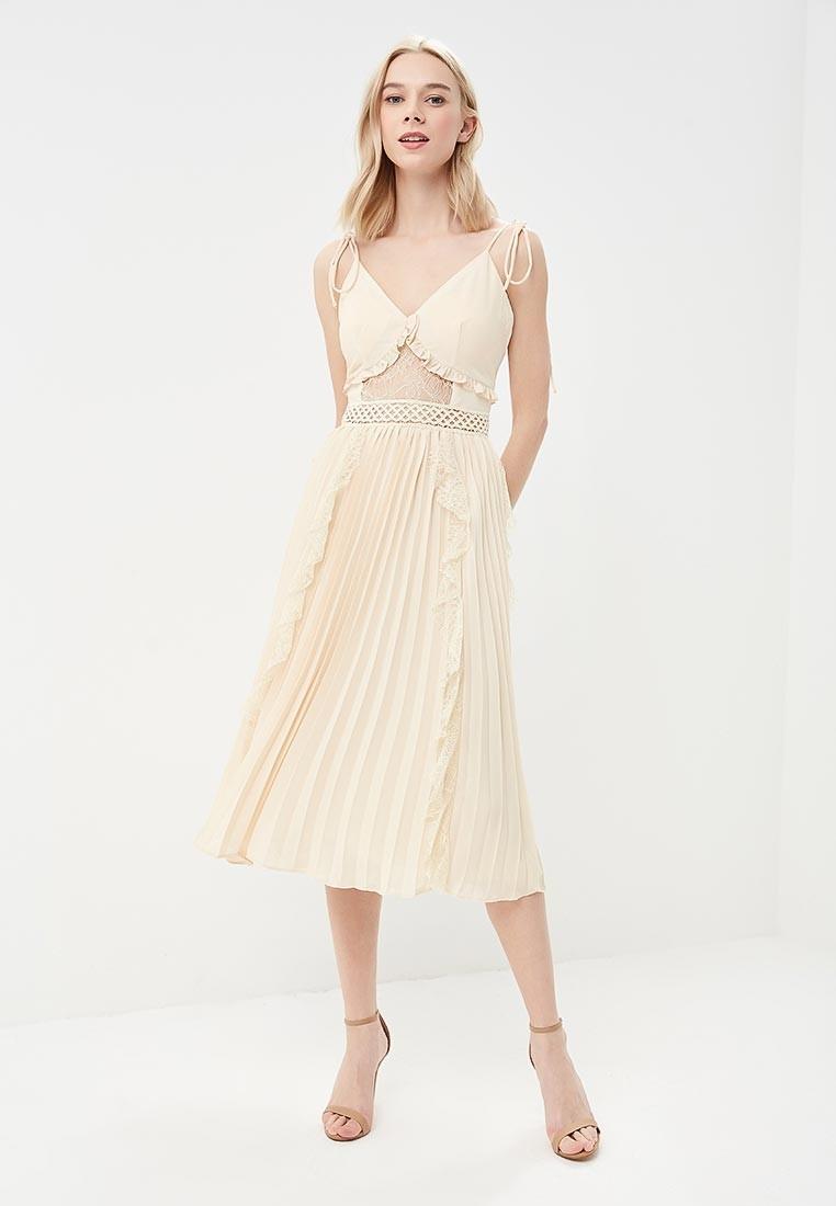 63148a9bb7db Φόρεμα πλισέ με δαντέλα - Bettina Stores Bettina Stores