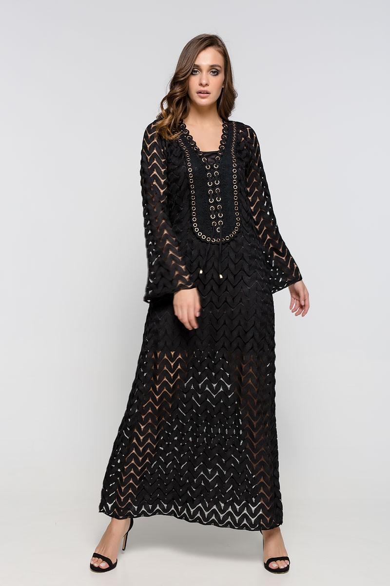 Φόρεμα μάξι μακρυμάνικο
