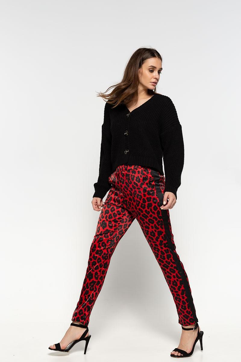 Παντελόνι λεοπαρ με ρίγα