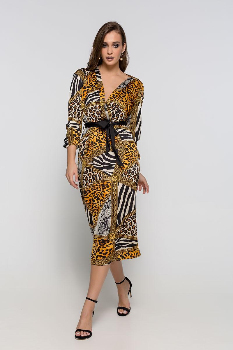 3e607a0b3303 Φόρεμα με print - Bettina Stores Bettina Stores