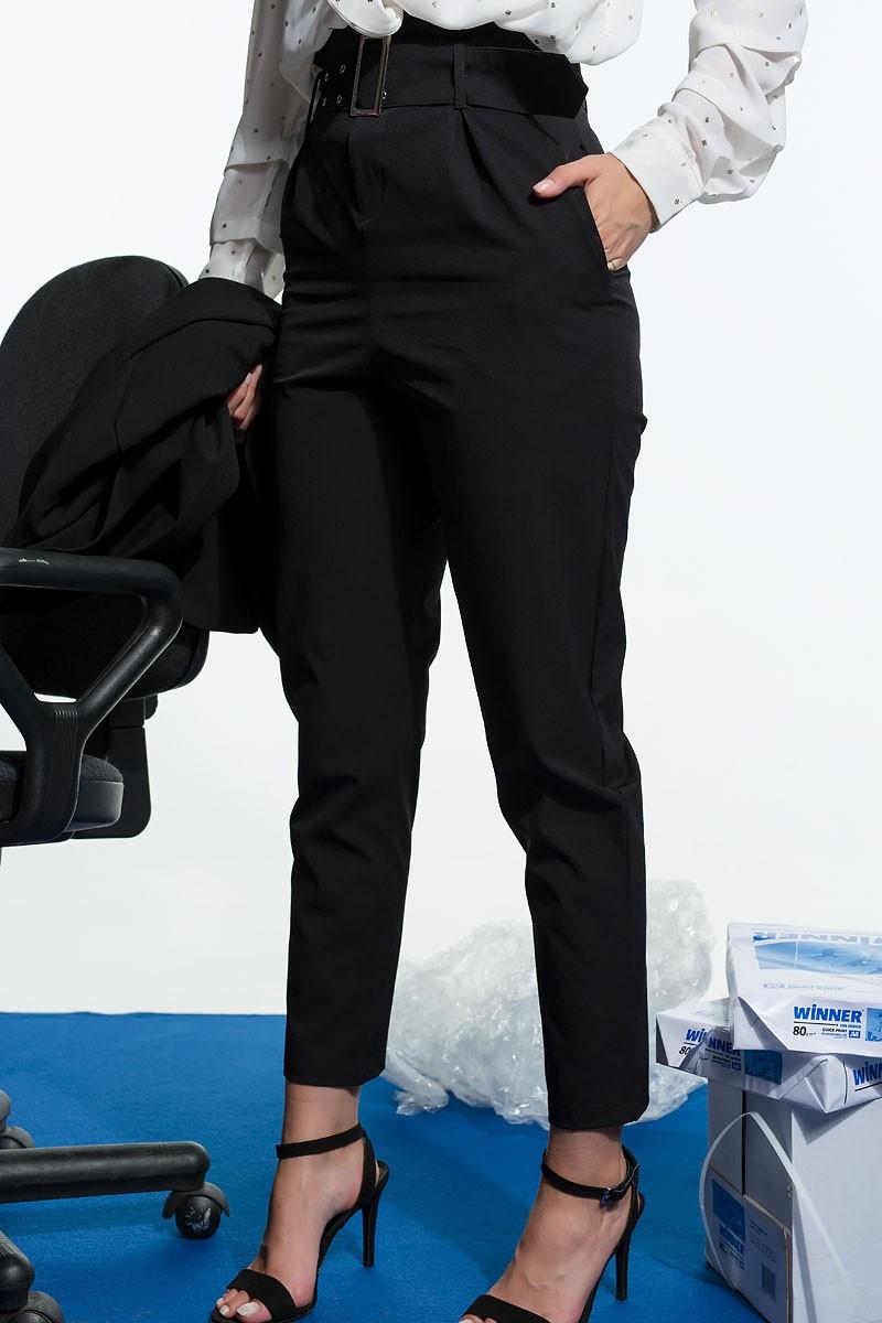 Παντελόνι ψηλόμεσο με ζώνη