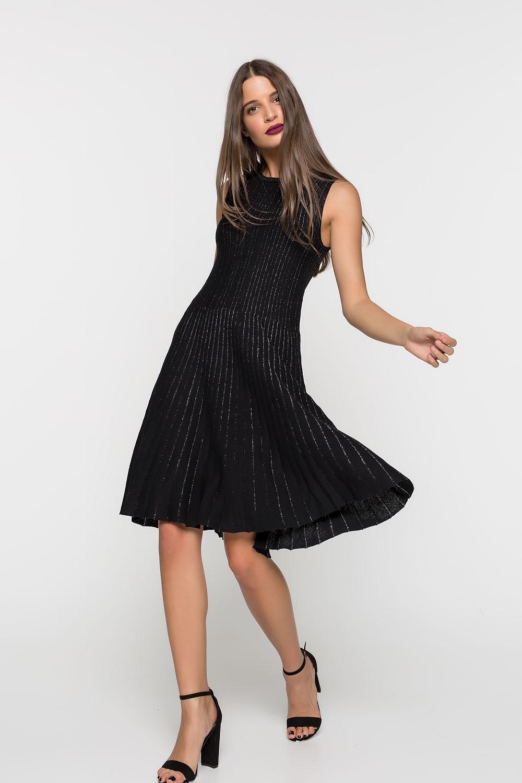 Φόρεμα σε ριπ ύφανση
