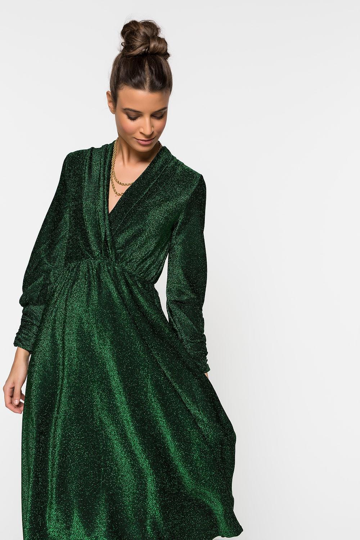 Κρουαζέ φόρεμα Lurex