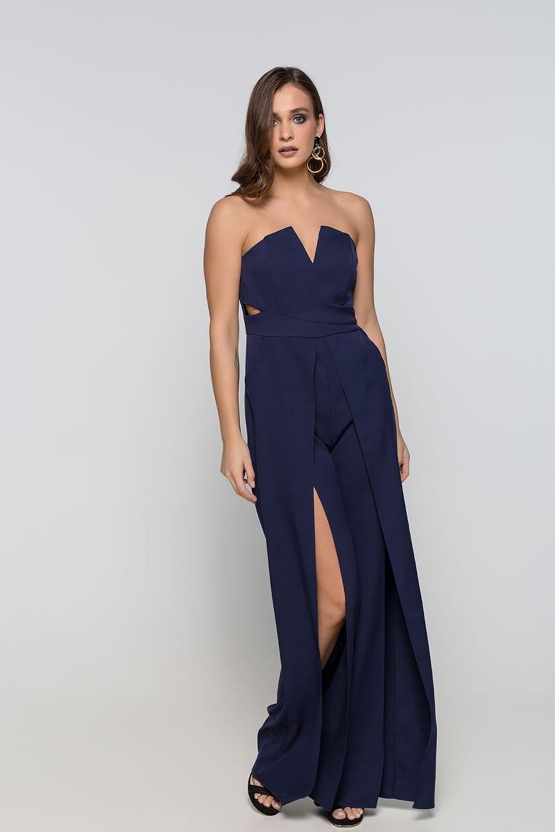 Ολόσωμη φόρμα strapless