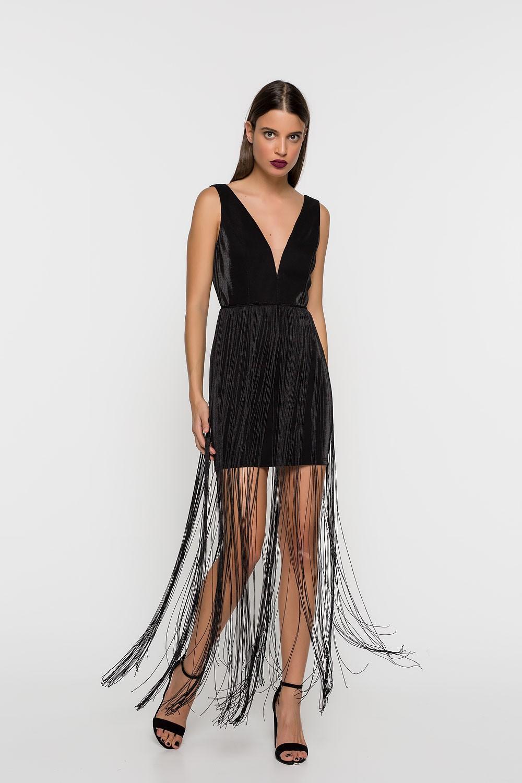 40ebb12eba4d Φόρεμα με κρόσια - Bettina Stores Bettina Stores