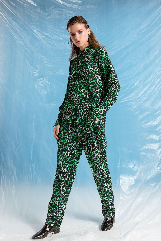 Παντελόνι με leopard print