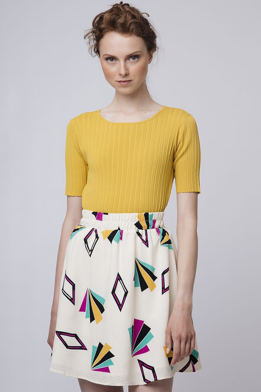 Geometrical φούστα