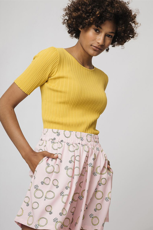 Pink Ring shorts