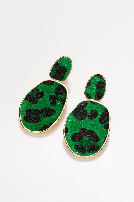 Σκουλαρίκια leopard