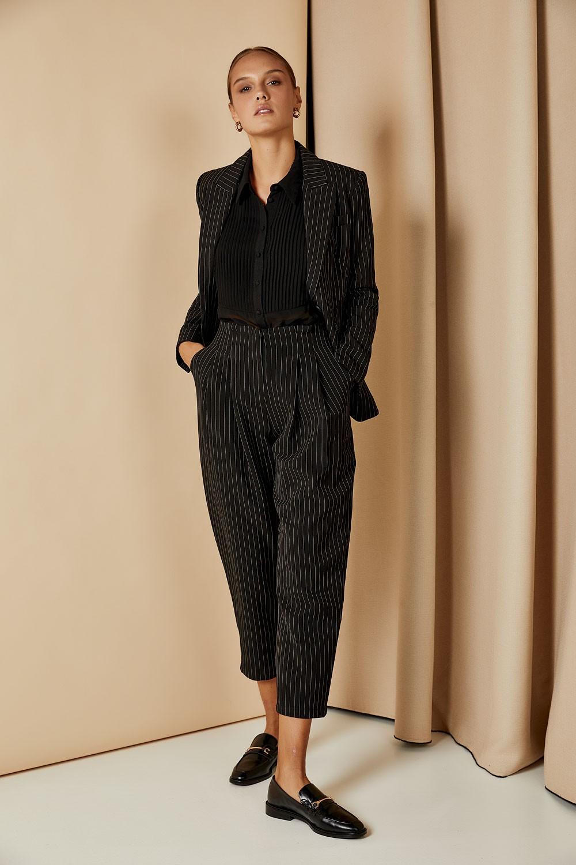 Παντελόνι κοστουμιού με ρίγα