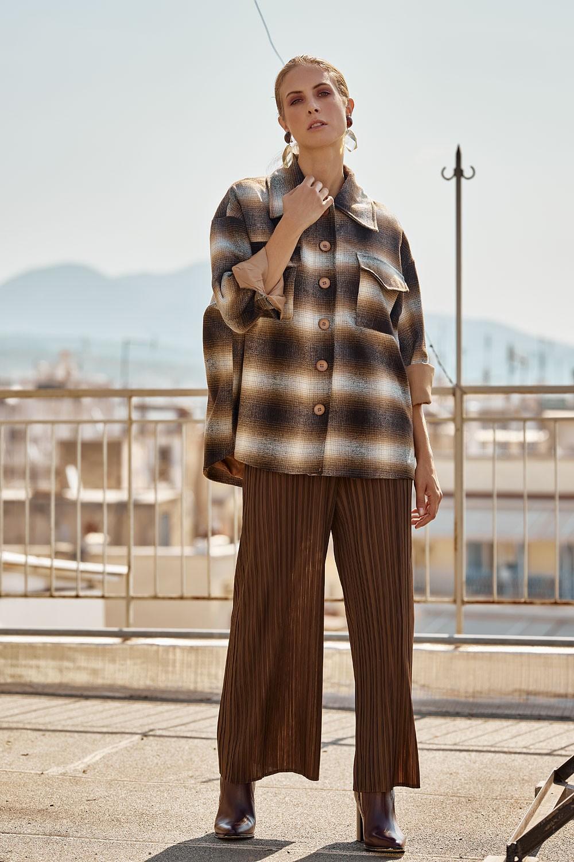 Monochrome Plisse pants