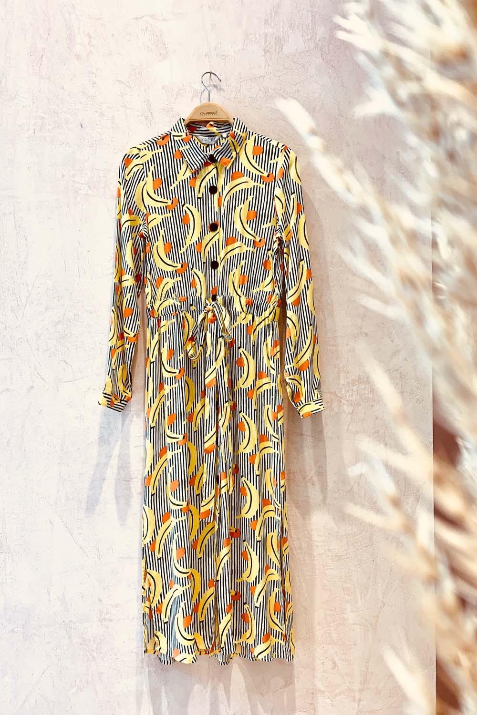 The Banana Dress (button-down)