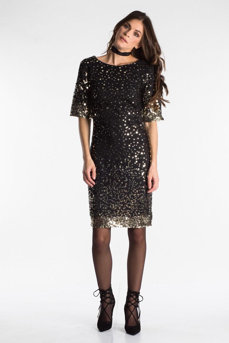 78e24e81f042 Φόρεμα με παγιέτα - Bettina Stores Bettina Stores