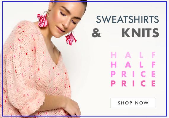 Sweatshirts or knits