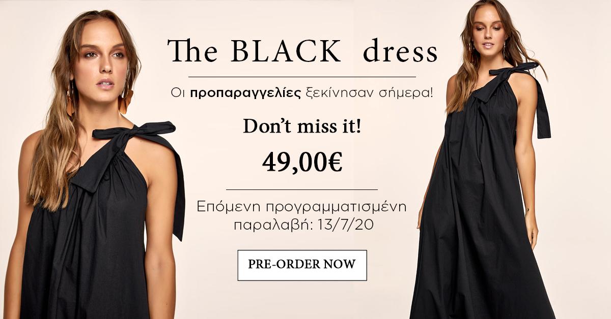 Pre order black