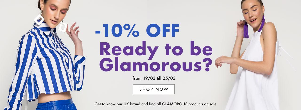 GLAMOROUS -10%